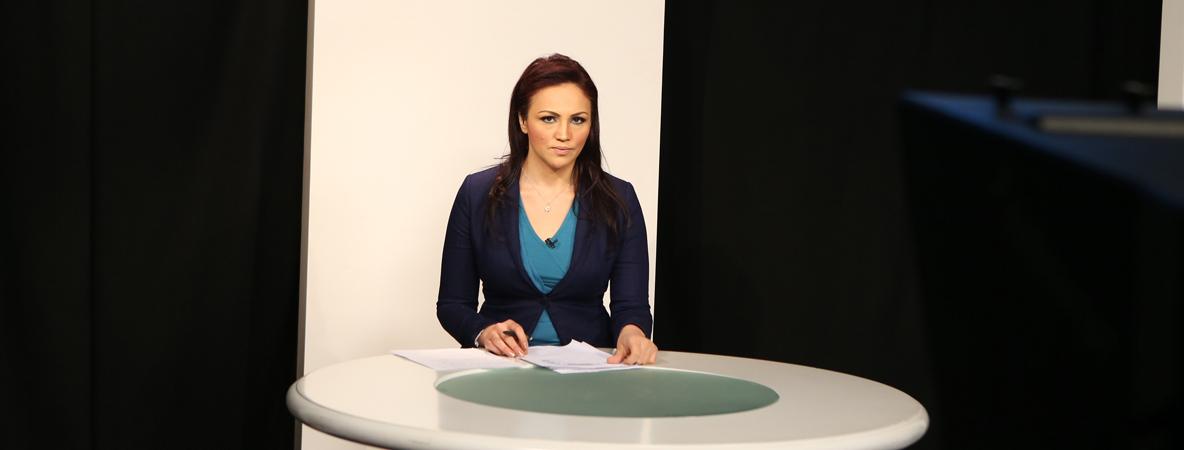 التقديم التلفزيوني الإخباري