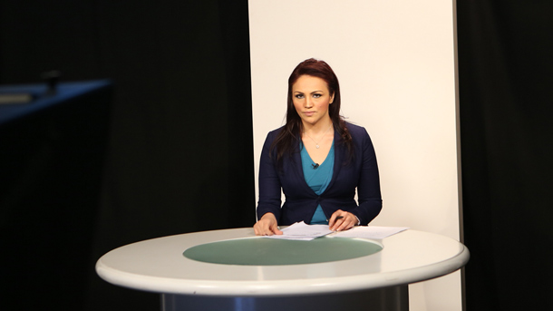 TV News Presentation